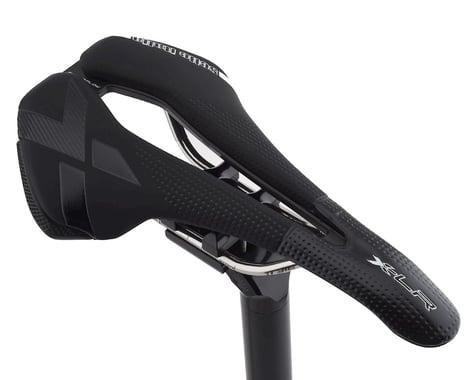 Selle Italia X-LR Superflow Saddle (Black) (Titanium Rails)