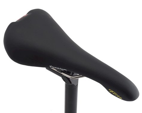 Selle Italia Flite 1990 Saddle (Black) (Titanium Rails)