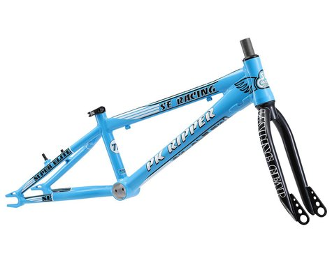 "SE Racing PK Ripper Super Elite BMX Frame (Blue) (Toptube 20.5"") (Pro)"