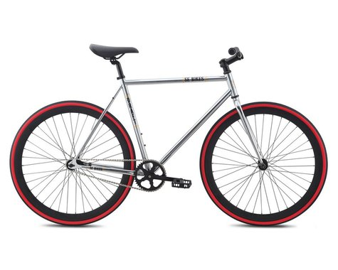 SE Racing Bikes Draft Chrome Single Speed City Bike - 2015 (Chrome)