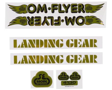 SE Racing OM Flyer Decal Set (Gold)