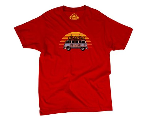 SE Racing SE Vee Dub T-Shirt (Red) (L)