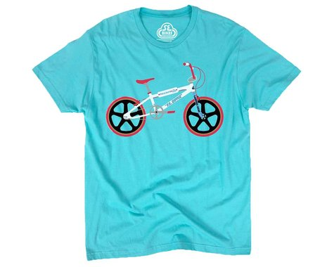 SE Racing Mike Buff PK T-Shirt (Aqua) (L)