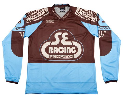 SE Racing Retro BMX Jersey (Blue) (YL)