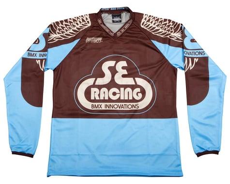 SE Racing Retro BMX Jersey (Blue) (S)