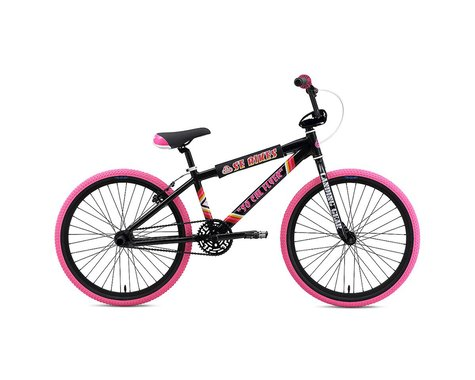 "SE Racing So Cal Flyer 24"" BMX Bike - 2019 (Black)"