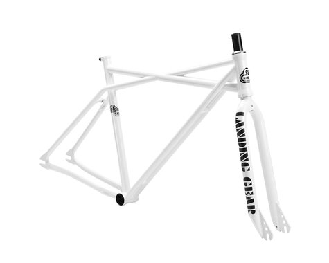 SE Racing Quad Fix BMX Frame Set - 2013 (White) (51)