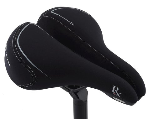 Serfas RX Hybrid Saddle w/ Elastomers (Lycra Cover)