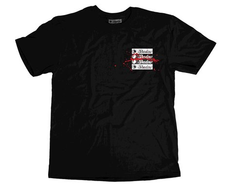 The Shadow Conspiracy Back Against The Wall Tshirt (Black) (L)
