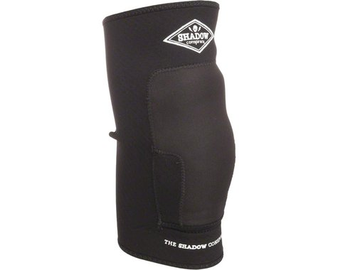 The Shadow Conspiracy Super Slim Protective Knee Pad: Pair~ Black~ MD