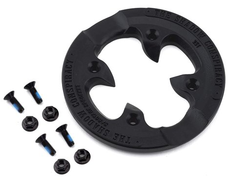 The Shadow Conspiracy Sabotage Sprocket Replacement Guard (Black) (25T)