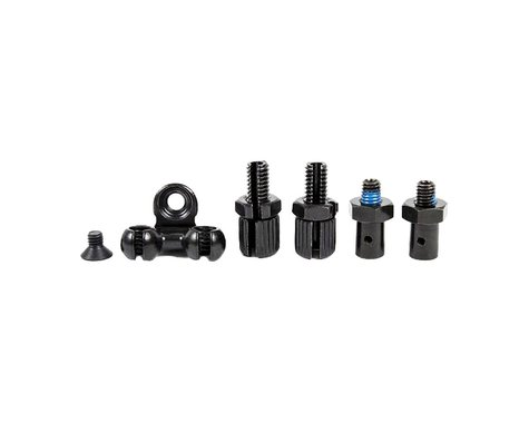 The Shadow Conspiracy Sano Detangler Lower Dual Cable Stop Kit (Black)