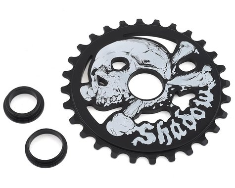 The Shadow Conspiracy Cranium Sprocket (Black) (28T)