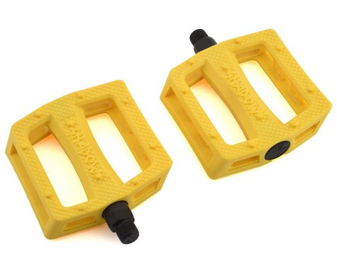 """The Shadow Conspiracy Ravager PC Pedals (Sun Flare Yellow) (9/16"""")"""