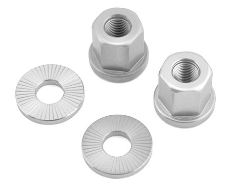 The Shadow Conspiracy Featherweight Alloy Axle Nuts (Polished) (3/8)