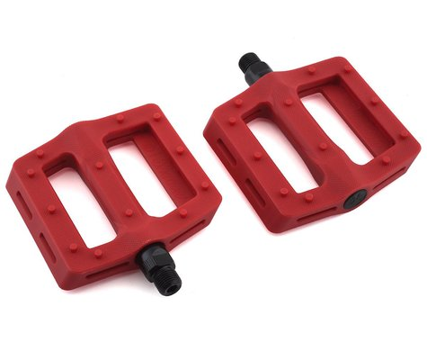 "The Shadow Conspiracy Surface Plastic Pedals (Crimson Red) (Pair) (9/16"")"