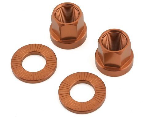 The Shadow Conspiracy Featherweight Alloy Axle Nuts (Copper) (14mm)