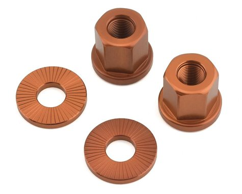 The Shadow Conspiracy Featherweight Alloy Axle Nuts (Copper) (3/8)