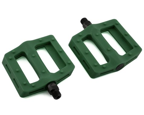 "The Shadow Conspiracy Surface Plastic Pedals (British Racing Green) (9/16"")"