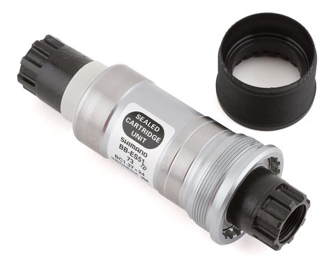 Shimano ES51 Octalink V2 Spline Bottom Bracket (Black) (BSA) (73mm) (113mm)