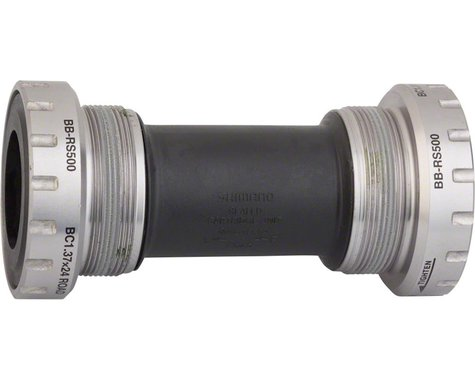 Shimano BB-RS500 Hollowtech II Threaded Bottom Bracket (Silver) (BSA) (68mm)