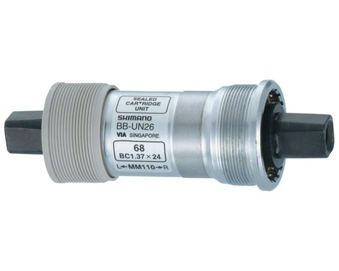 Shimano UN26  Square Taper Bottom Bracket (68x122.5mm/English)