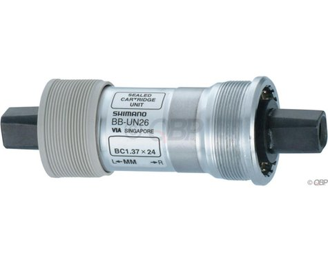 Shimano UN26 Square Taper Bottom Bracket (68x127.5mm/English)