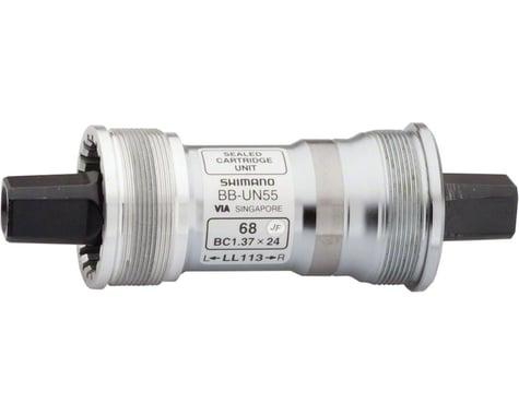 Shimano BB-UN55 Bottom Bracket w/ Fixing Bolt (70mm) (115mm) (Italian)