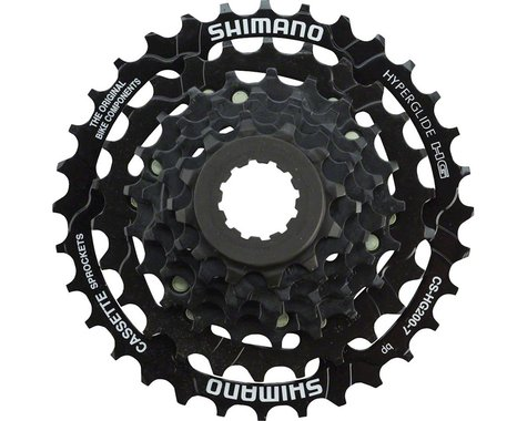 Shimano CS-HG200 7-Speed Cassette (Black) (12-32T)