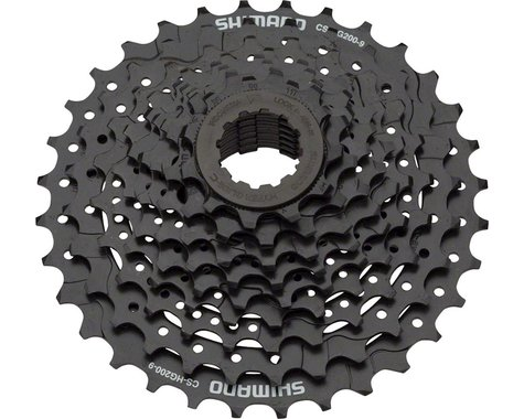 Shimano CS-HG200 9-Speed Cassette (Black) (11-32T)