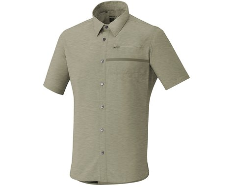 Shimano Transit Check Button Up (Dusky Green)