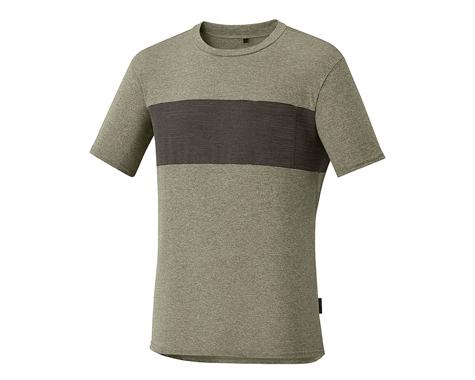 Shimano Transit T-Shirt Dusky Green (Dskgrn) (S)