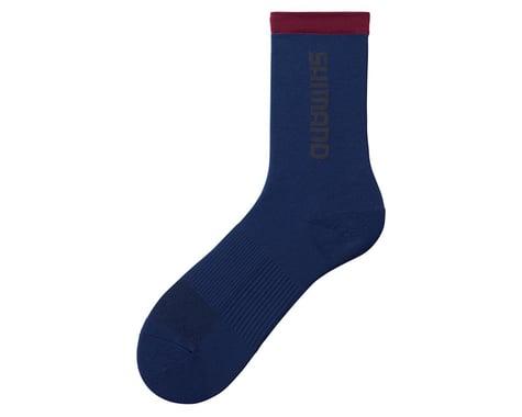 Shimano Original Tall Socks (Navy) (S/M)