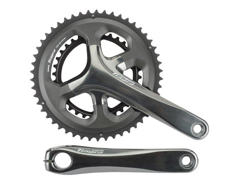 Shimano Tiagra 4700 Crankset (Grey) (2 x 10 Speed) (Hollowtech II) (170mm) (50/34T)