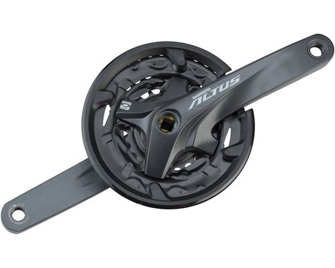 Shimano Altus M2000 Crankset w/ Guard (3 x 9 Speed) (Square Taper) (170mm) (40/30/22T)