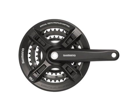 Shimano Altus FC-M311 Crankset - 170mm, 7/8-Speed, 42/32/22t, Riveted, Square Ta