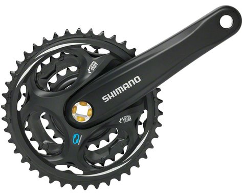 Shimano Altus FC-M311 Crankset - 175mm, 7/8-Speed, 42/32/22t, Riveted, Square Ta