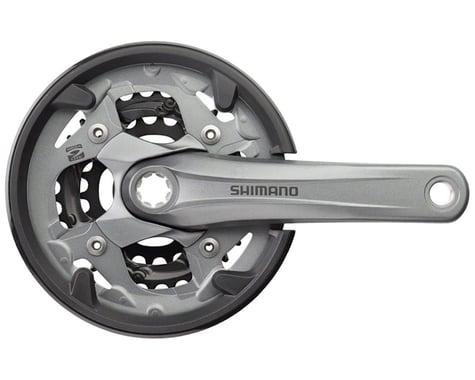 Shimano Alivio M4000 9-Speed 170mm 22/30/40t Octalink Crankset with Chainguard,