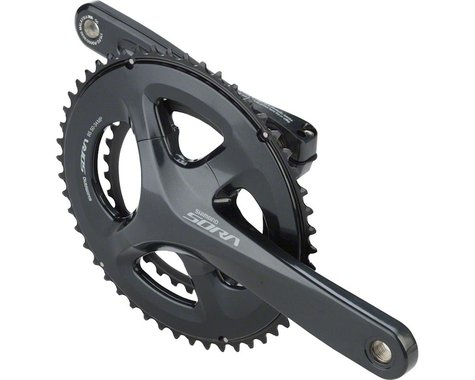 Shimano Sora R3000 Crankset (Grey) (2 x 9 Speed) (Hollowtech II) (165mm) (50/34T)