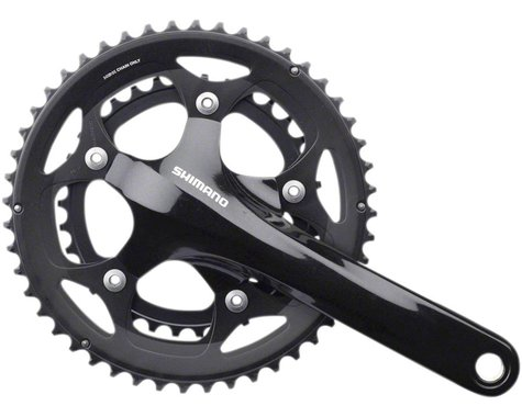 Shimano Tiagra R460 Crankset (Black) (2 x 10 Speed) (Hollowtech II) (170mm) (48/34T)