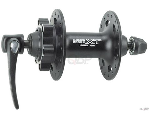 Shimano XT HB-M756 Front Disc Hub (Black) (36H)