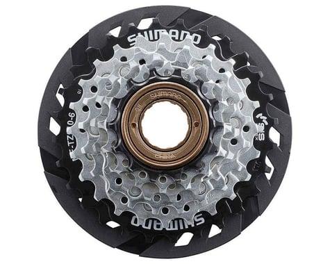 Shimano TZ510 6sp Freewheel Sprocket (Silver/Black) (14-28T)