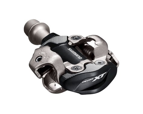 Shimano PD-M8100 Deore XT Race Pedals w/Cleats (Black)