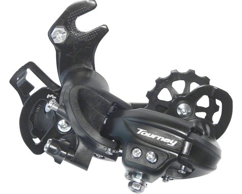 Shimano Tourney RD-TY300 Rear Derailleur (Black) (6/7 Speed) (Dropout/Claw Hanger) (Long Cage)