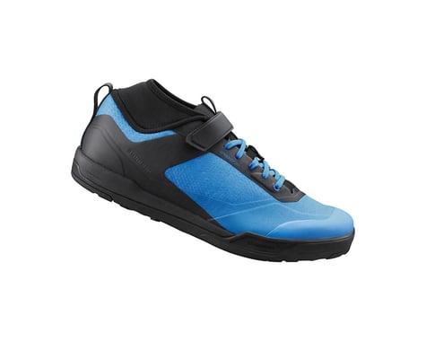 Shimano SH-AM702 Mountain Bike Shoes (Blue) (42)