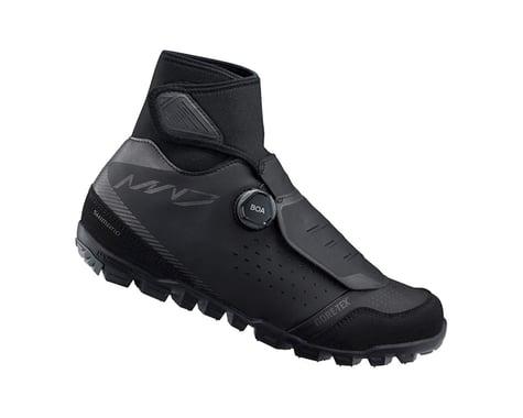 Shimano SH-MW701 Mountain Bike Shoes (Black) (Winter) (46)
