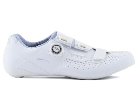 Shimano SH-RC500 Women's Road Bike Shoes (White) (40)