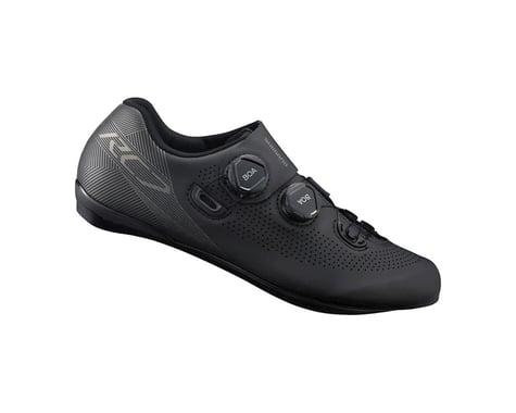 Shimano SH-RC701 Wide Road Shoe (Black) (48)