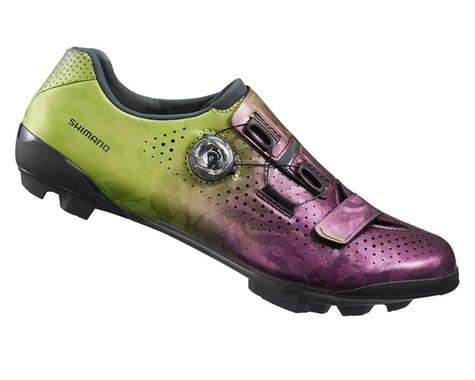Shimano RX8 Gravel Shoes (Purple/Green) (44)