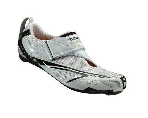 Shimano TR60 Triathlon Shoes (White/Black)